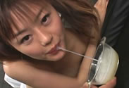 Semen Maniac 1 SDDH-011B Asian Bukkake and Cum Eating Nanami Nanase
